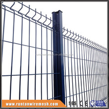 High quality curved fence panels (ISO 9001 Certificate )