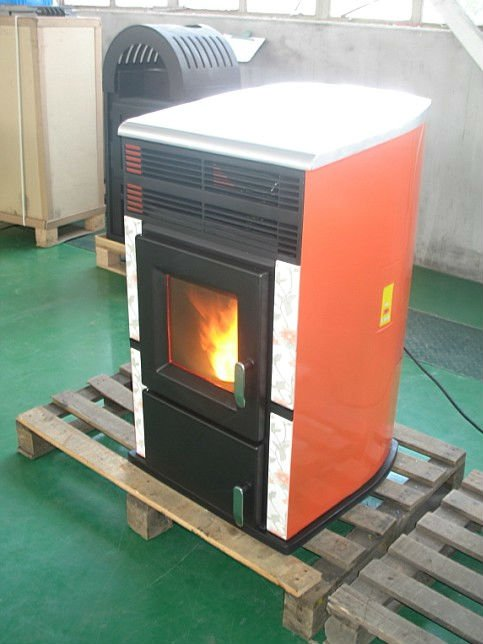 Hot selling cast iron cheap wood pellet stove for home heating