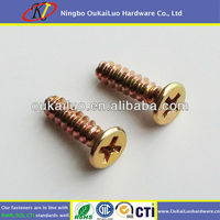 Cross Recessed Counter Sunk Screw For Electronic