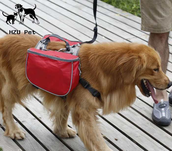 Outdoor sports Pet Dog Bag Oxford cloth dog self-use pet Backpack