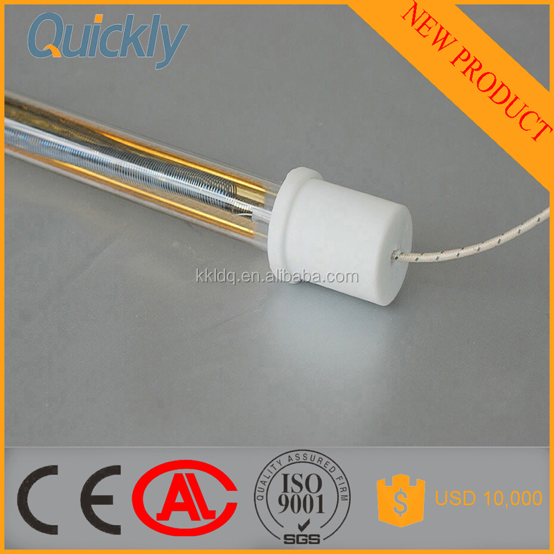 medium wave infrared heater lamp for plastic sheets processing