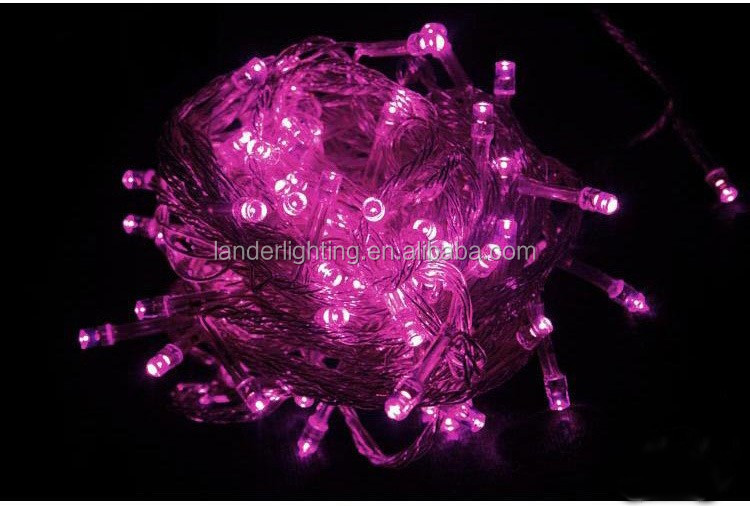 10M 100led With low price indoor decoration Factory main products OEM design remote control led string lights