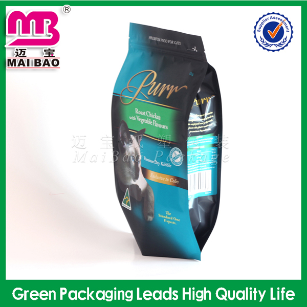 Modern & fashion recycled plastic biodegradable dog food packaging bag wholesale price