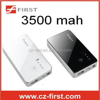 smartphone external battery mobile 3500mah power bank for mobile phone