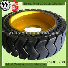 Premium Rim Guard Solid Skid Loader Tire 7.50-16