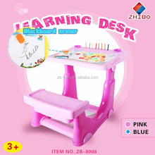 High quality kids drawing toy and baby kids learning desk