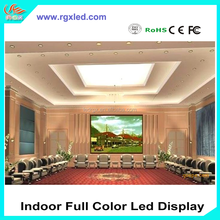 RGX P1.9 P2 P2.5 indoor full color led television display board /led programmable display board