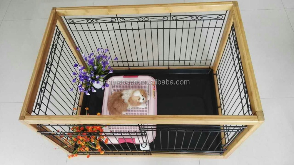 2017 New style Wood Plastic Composite(WPC) dog fence dog kennel pet play pen dog cages