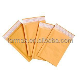 2015 Farmax golden kraft bubble padded envelope/kraft bubble mailer packaging bag