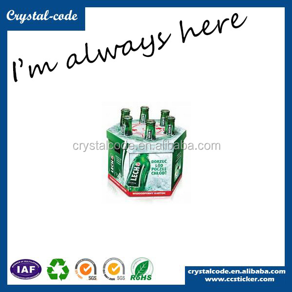 wholesale custom logo printed durable beer packaging box