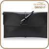 New Design Elegant Shape Saffiano PU Leather Women Cluch Bags Genuine Leather Lady Envelope Bag