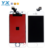 White LCD Display+Touch Screen Digitizer+Glass Lens Assembly for iPhone 5