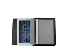 2015 new arrival genuine Leather Case with Auto Sleep/Wake Feature for ipad
