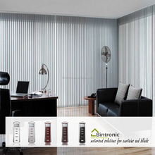 Bintronic Taiwan DC Electric Automatic Curtain Motor Motorized Vertical Blinds curtains And Drapes Accessories