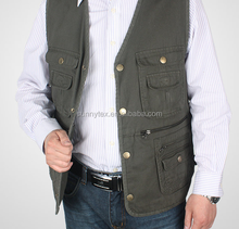 Fashion Multi vest OEM Highest quality man fishing vest