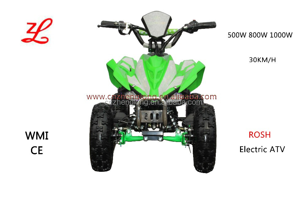 2017 cheap 36V 500W 800W 1000W electric ATV for sale