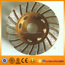 Best selling 4'' diamond cup wheels for grinding porcelain tiles