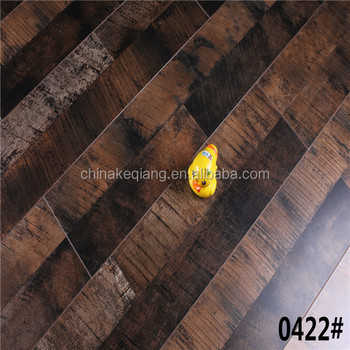 Brown Color Oak Laminated Flooring