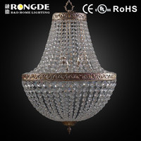 Energy saving crystal stairs chandelier light