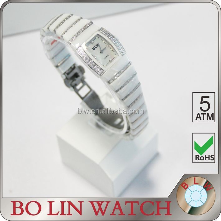 new gift lady ceramic wrist watch made in China