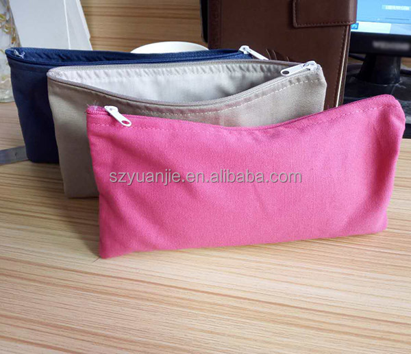 wholesale canvas fabric promotional fabric pencil case
