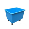 Industrial used plastic laundry trolley Lijing