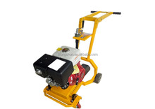 Hand Concrete Pavement Grooving cutting Machine with honda GX390 For Sale