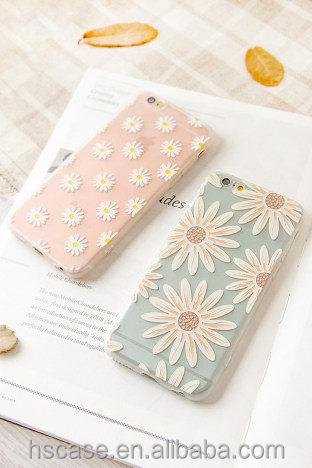 Fashion beautiful flowers design TPU Case Cover For Iphone5/6/6plus Cover Case Design Case