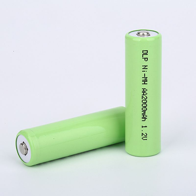 Rapid charge performance 2000mA 1.2v AA2000 NI-MH cylindrical battery