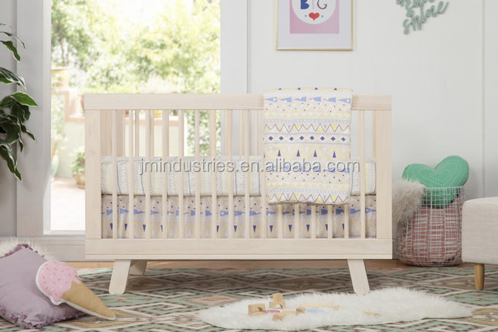 Wholesale Cheaper Price 4in1 Solid Wood Convertible crib baby cot baby bed