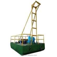 Pond cleaning mud small sand dredger
