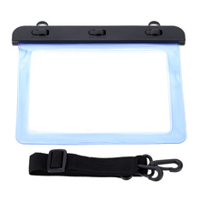 High Transparency Water-resistance Protective Bag Case Waterproof Wallet Shell with Belt for Apple iPad mini 1 2 3 Tablet 7.9 in