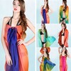 fashional design women ombre beach wears