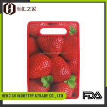 New product custom design high density pp kitchen chopping boards plastic