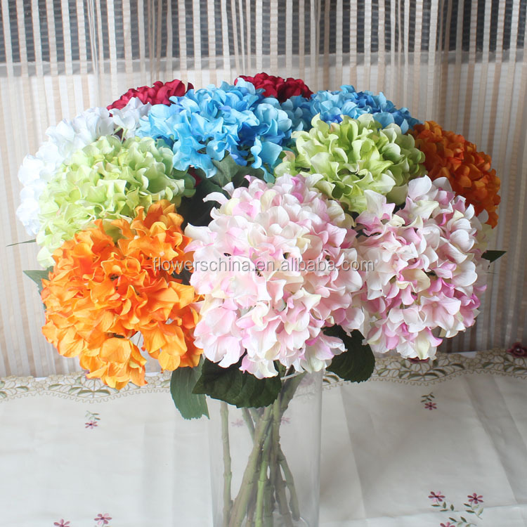 factory sale wedding decor flower long term dried hydrangeas