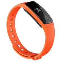 ID107 HR plus band <strong>smart</strong> <strong>watch</strong> with 0.49&amp;quot; OLED touch screen bracelet multi color