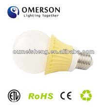 led light bulb shaped gift lighting 3w