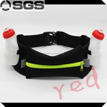 Colorful Sport Waist Pack Bags Running Belt with Bottle Holder