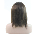 12inches Indian Remy Hair Natural Color Full Hand Tied Lace Wig