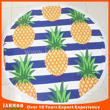 Seaside essentials MOQ 5pcs microfiber round beach towel