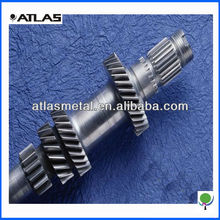 precision customized helical gear shaft