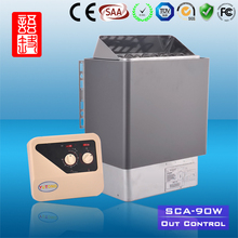 Outside Control Flocking Electric Sauna Stove for outdoor sauna steam room