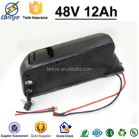 Hot Selling 48V 12ah lithium battery for electric bike E - Bike with Dolphin Case 2.0 Charger BMS 4P13S Samsung Cell