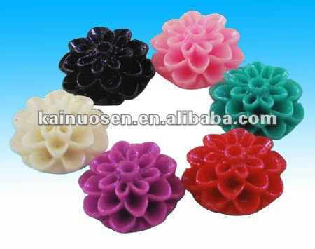 10 mm resin Mini Rose Flower Cabochons