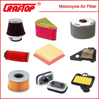 factory direct selling wholesale motorcycle parts air filter manufacture