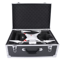 Carrying DJI Case Aluminum Hard Travel Box Professional Advanced for Drone DJI Phantom 4 Quadcopter / also for Phantom 3