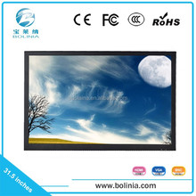 12V output broadcast video monitor, small size HD-sdi mount LCD monitor