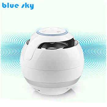 Ball Shape Wireless Bluetooth Speaker, Portable Outdoor Speakers