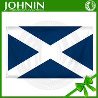 blue color polyesterchina high quality fabric flying 90X150cm Scotland flag