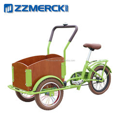 3 Wheel Child Cargo Box Tricycle